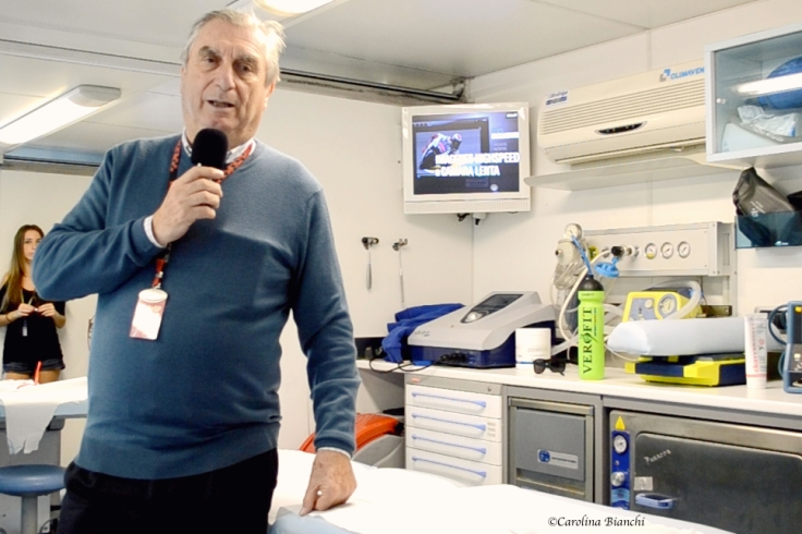 Dr. Claudio Costa talks about the Clinica Mobile